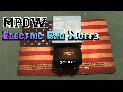 mpow-electronic-ear-muffs-|-unboxing-|-best-budget-ear-protection-for-shooting