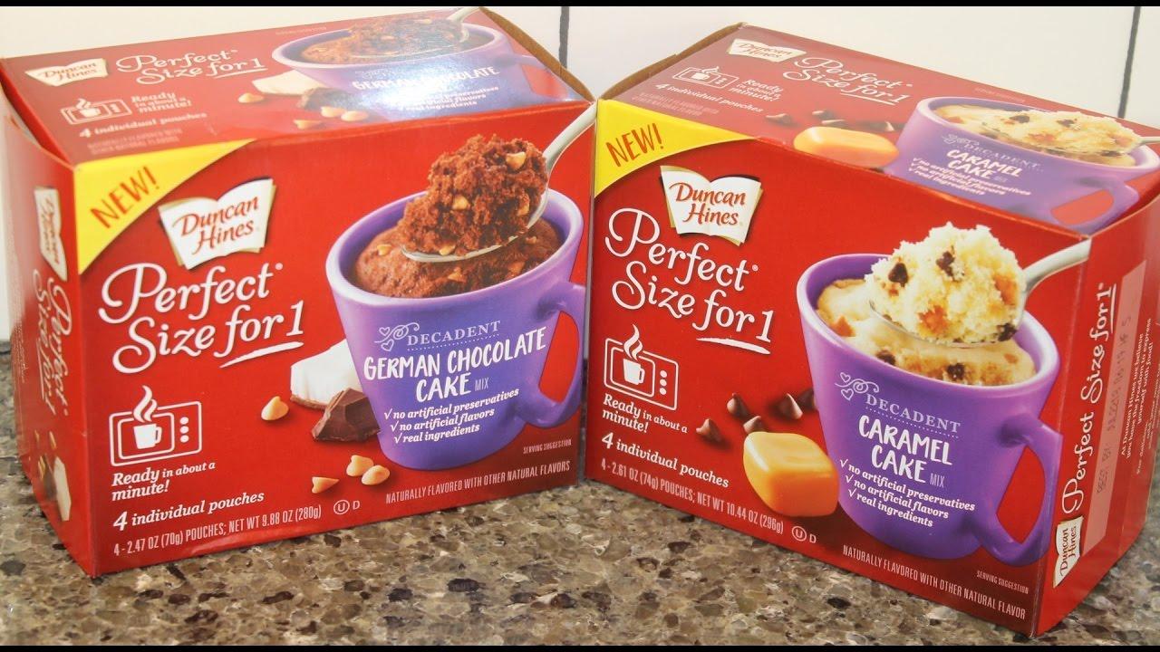 Duncan Hines German Chocolate Cake Mix Review