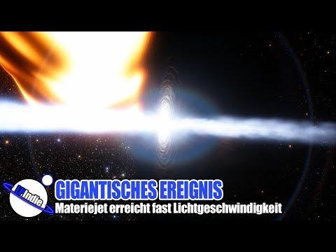 Gigantisches Ereignis - Materiejet erreicht fast Lichtgeschwindigkeit  - Ereignis GW 170817
