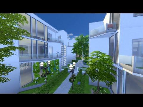 Apartment Blocks - Sims 4 Build