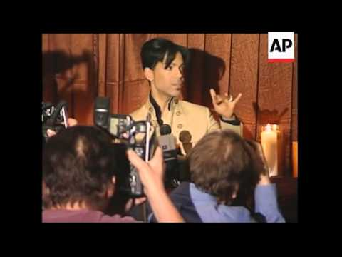 Prince and Mia Maestro give press conference about new single