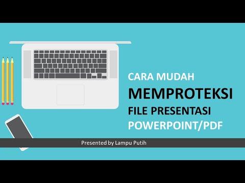 INFO BERFAEDAH ini belajar tentang Cara mengunci file pdf agar file pdf tidak bisa diedit, diprint a.