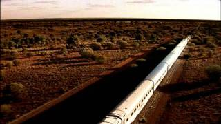 Treno Ghan Australia 60sec