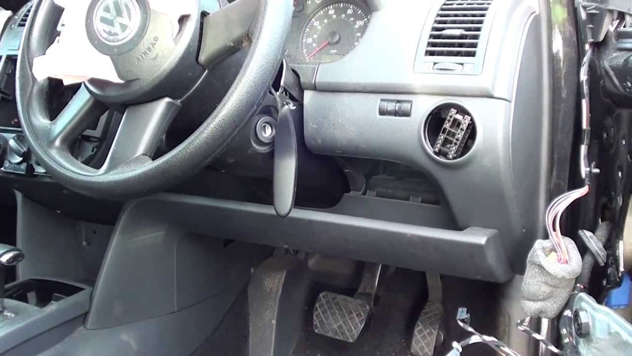 Vw Polo Diagnostic Port Location Video Youtube