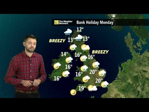 UK August Bank Holiday Weather Forecast 2015