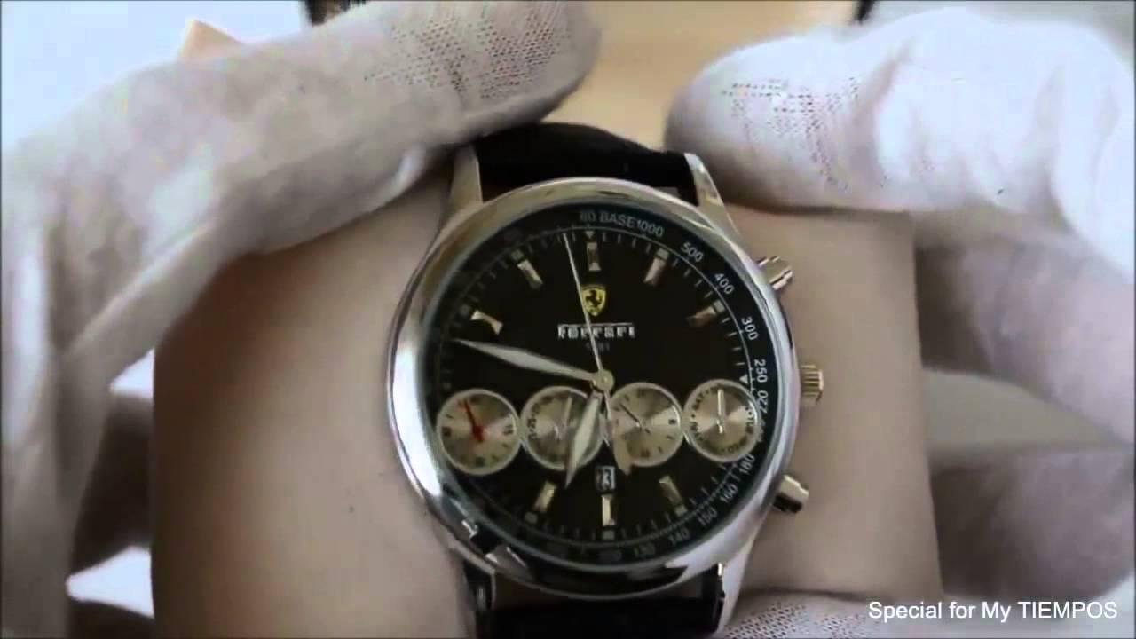 Часы Ferrari Maranello с доставкой по всей России - YouTube