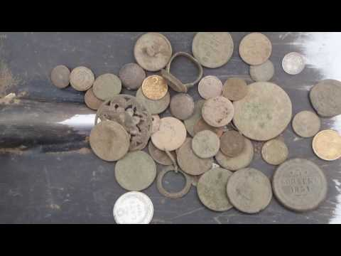 "Coins of the Latvian fields.Soviet ""gold"".-Монеты Латвийских полей..mp4"