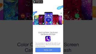 Color Call Flash- Call Screen Call Phone LED Flash screenshot 5