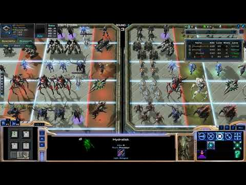 Starcraft 2 - (ARCADE) 387 - Solo Lottery Defence 4.0 - Picknul easy :D