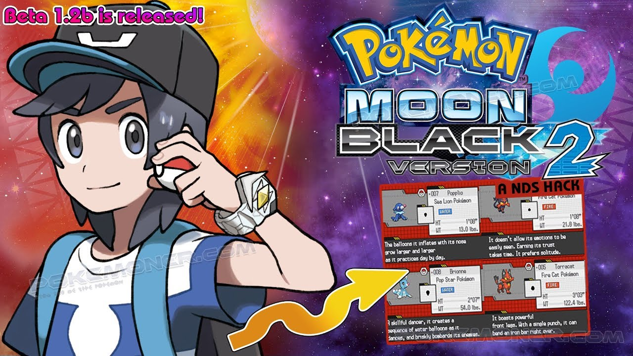 Pokemon Moon Black 2 Beta 2 6 Gym All Problem Fixed - Pokemoner com
