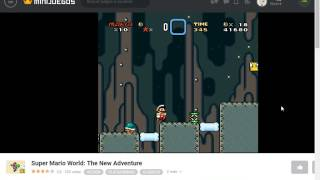 Minijuegos com  Super Mario World The New Adventure