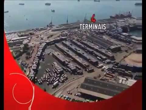 Porto de Luanda - Retratos de Angola-Novaangola-Ganga Tv  -  Tchivinguiro WebServices