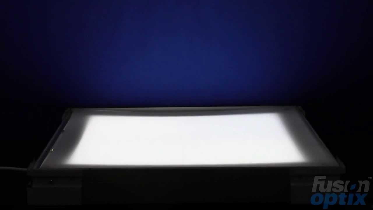 fusion optix pc8080 polycarbonate diffuser sheet demo