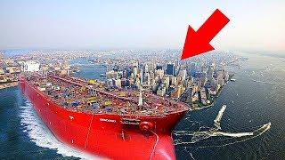 10 Самых Больших Кораблей в Мире cмотреть видео онлайн бесплатно в высоком качестве - HDVIDEO