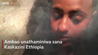 Utamaduni wa kuoga kwa mvuke Ethiopia