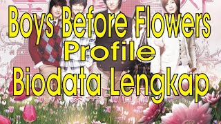 Biodata Lengkap Pemain Boys Before Flovers Profile Boys Over Flowers
