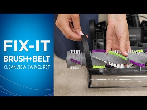 How to Fix the Brush Roll and Belt on your BISSELL® Cleanview® Swivel Pet Vacuum