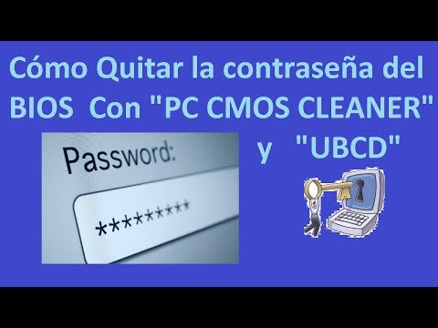 Cómo Quitar el Password del BIOS con 'Pc cmos Cleaner' y 'Ultimate ...