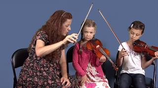 INTRO TO THE VIOLIN by Children