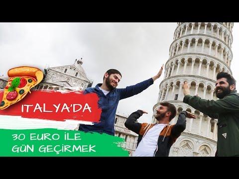 İTALYA'DA 🇮🇹 30 EURO İLE BİR GÜN GEÇİRMEK!