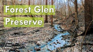 Backpacking Forest Glen Preṡerve - Illinois