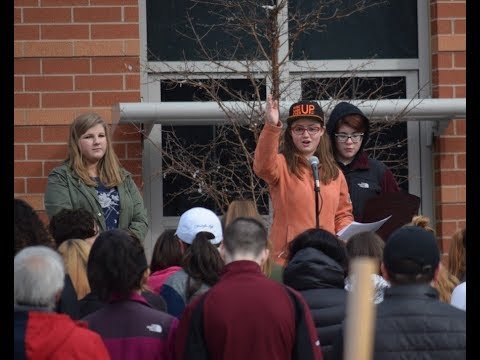 National School Walkout: Easthampton students take a stand against on gun violence