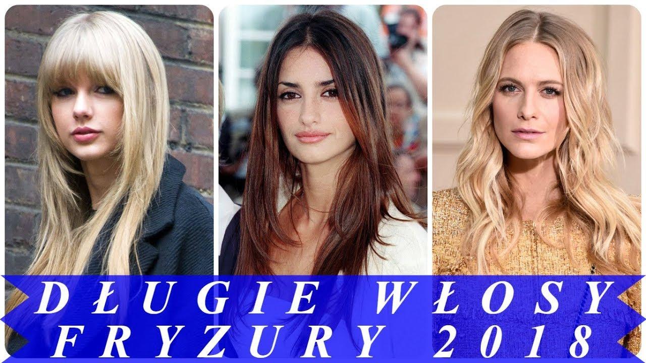 Top 20 Najmodniejsze Fryzury Długie Włosy Cieniowane 2018 Youtube