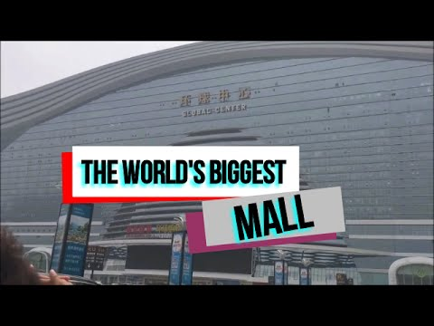 The Worlds Biggest Mall: Global Center | China Vlog #3