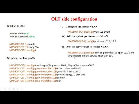 GPON VoIP Configuration with Troubleshooting the Service (HUAWEI) |  gpontutorials com