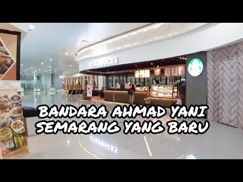 AIRPORT SEMARANG - BANDARA AHMAD YANI YANG BARU DISULAP JADI KEREN BANGET !!