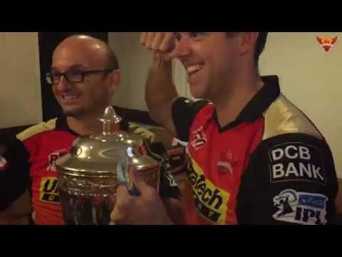 SRH IPL 2016 Win Celebration