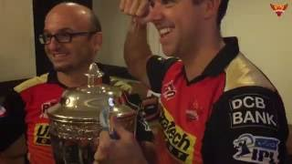 SRH IPL 2016 Win Celebration