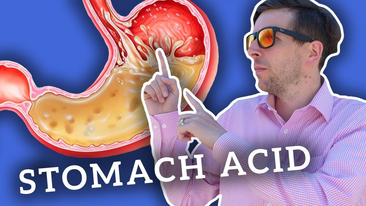 does vegan diet cause low stomach acid