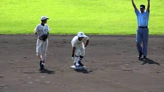 佐渡友・2ベース→田村・先制タイムリー(2011秋・東洋大姫路戦)