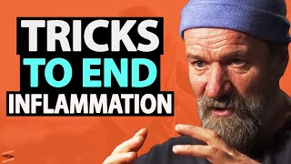 These 3 TRICKS REĎUCE Inflammation IN SECONDS!   Wim Hof & Lewis Howes