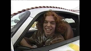 Carrot Top Drives Jay Leno's Dodge Viper GTS - The Tonight Show, 1999