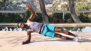 Guts & Glutes Workout - Ab & Buttocks Exercises: Shrink Your Belly, Lift Your Booty: Bodyweight Only