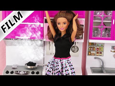 Barbie Filme deutsch | BESTE FREUNDINNEN zu Besuch zum Essen | Chaotischer Tag & Brand in der Küche
