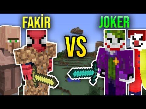 ZENGİN VS FAKİR ÖRÜMCEK ADAM #56 - Fakir Joker'i Yendi mi? (Minecraft)