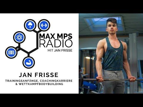 MAX MPS RADIO #14: Jan Frisse - Trainingsanfänge, Coachingkarriere & Wettkampfbodybuilding