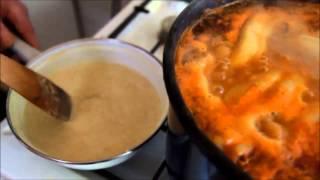 Antal Zsiga bácsi albán lencsét főz