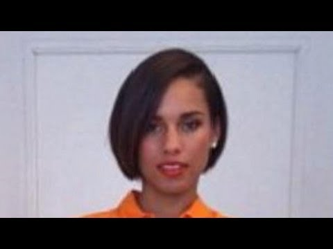 Alicia Keys Cuts Her Hair!!!!?! – I Love Her Long Hair :( – response vid