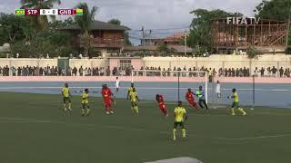 Sao Tome e Principe v Guinea-Bissau - FIFA World Cup Qatar 2022™ qualifier