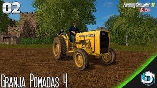 Farming simulator 17 - granja pomadas 4 - cap. 2 | gameplay español