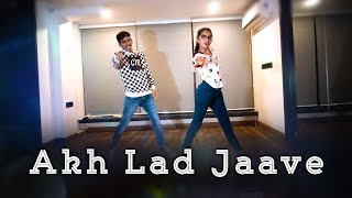 Akh Lad Jaave - Loveyatri | Dance Choreography | Harsh & Aayushiba | Badshah | Aaren Entertainment