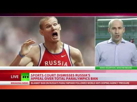 Paralympic dreams dashed: Entire Russian team banned after losing appeal