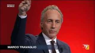 Matteo Renzi - Marco Travaglio - Marco Damilano  / Bersaglio Mobile 3 dic 2014