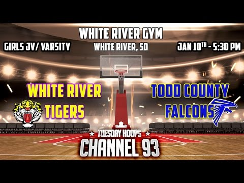 White River Tigers VS Todd County Falcons (Girls Basketball)