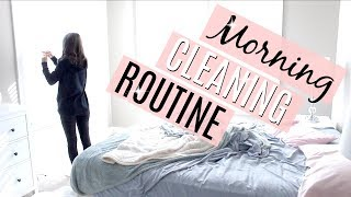 CLEAN WITH ME 2018 // MY MORNING CLEANING ROUTINE // RELAXING POWER HOUR thumbnail