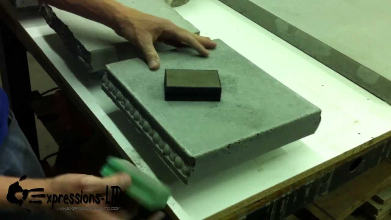 How To Diy Concrete Countertops Expressions Ltd